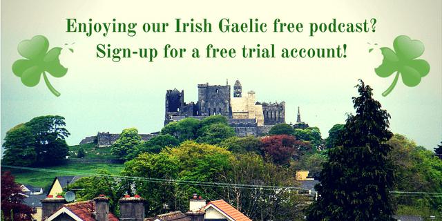 Bitesize Irish Gaelic Trial 2