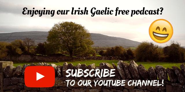Bitesize Irish Gaelic YouTube Channel 1