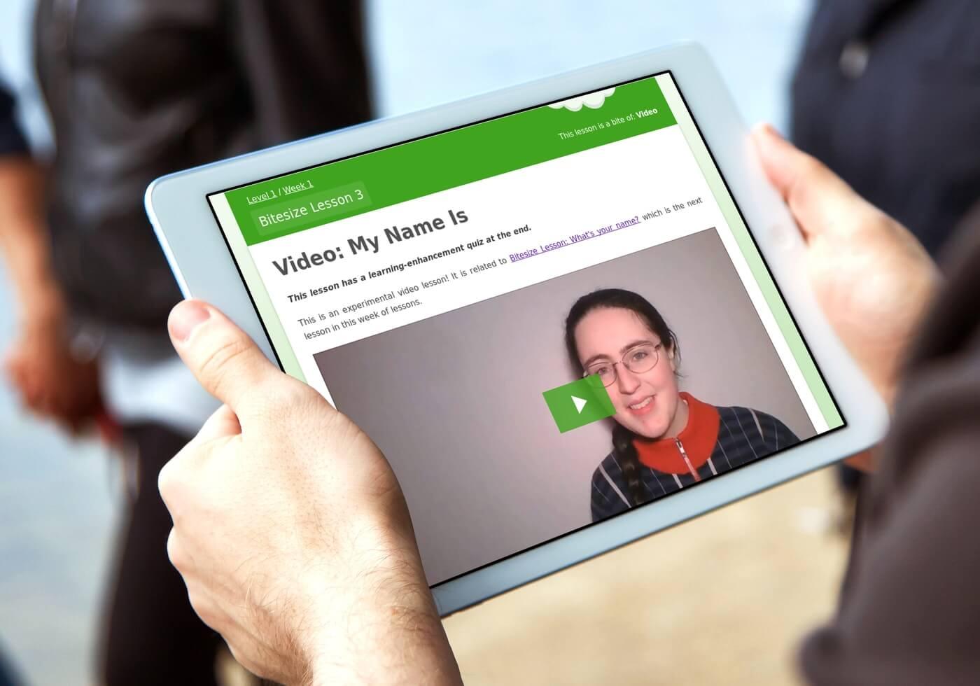 Irish Gaelic video lessons