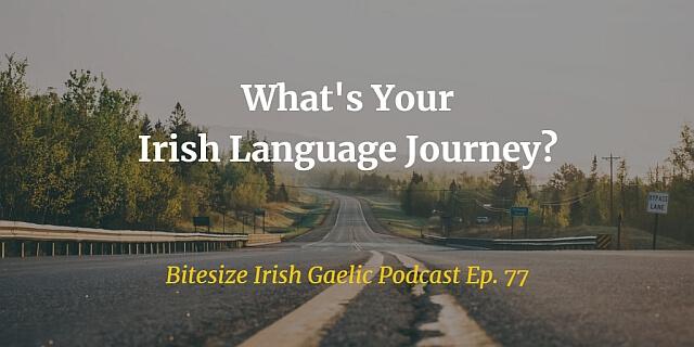 What's Your Irish Language Journey? (Ep. 77) image